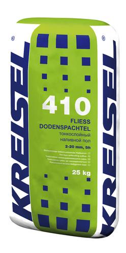 Тонкослойный самовыравнивающийся наливной пол FLIESSBODENSPACHTEL 410 Kreisel